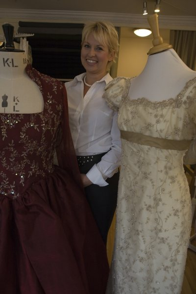 Interview with designer dressmaker, Mette Baillie