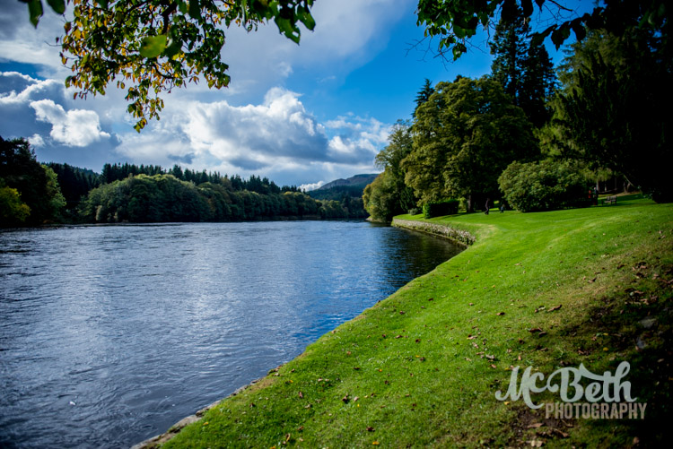 The River Tay at Dunkeld Cathedral