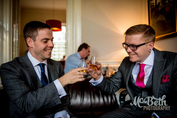 groom at the scotch whisky society