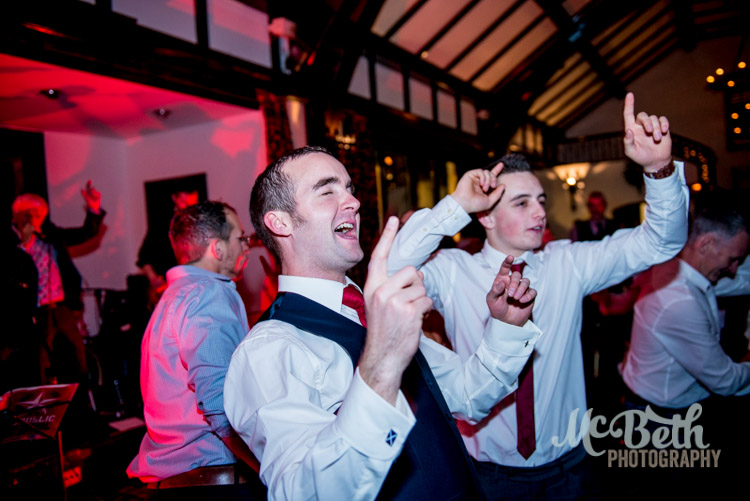Wedding dancing at Brig O Doon house hotel