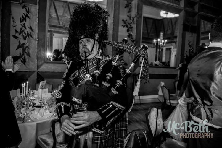 The one and only Pipe Major Iain Grant