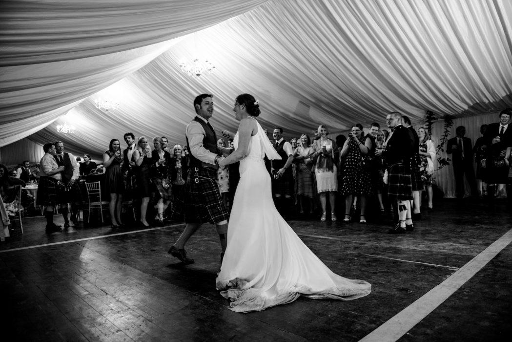 Modern candid scottish wedding photography