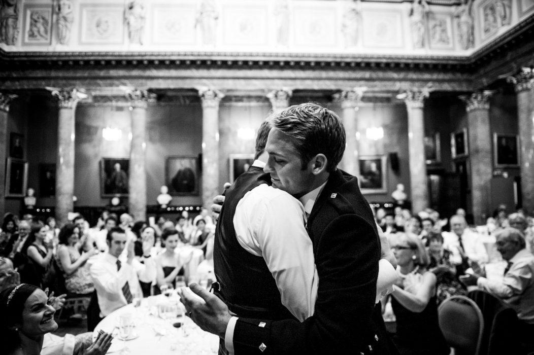 Modern scottish wedding photography