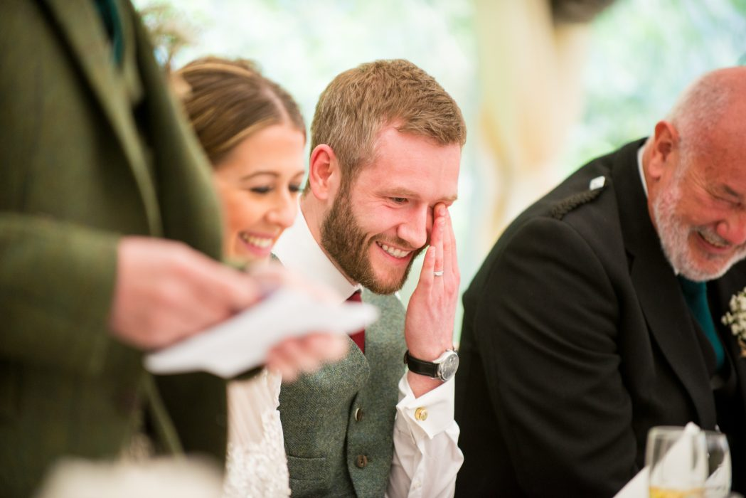 Modern scottish wedding photography Signet Library