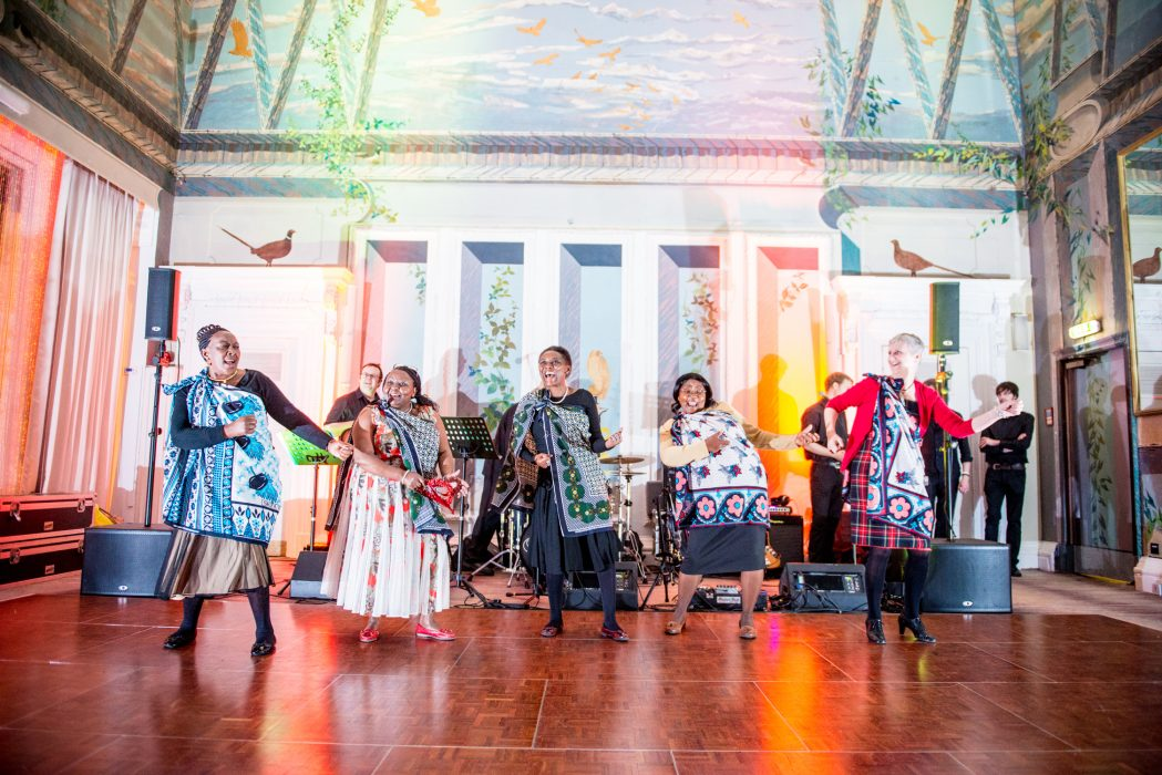 Caledonian Hotel wedding dancing
