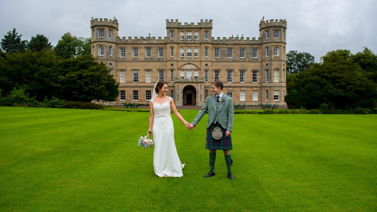 Wedderburn Castle wedding