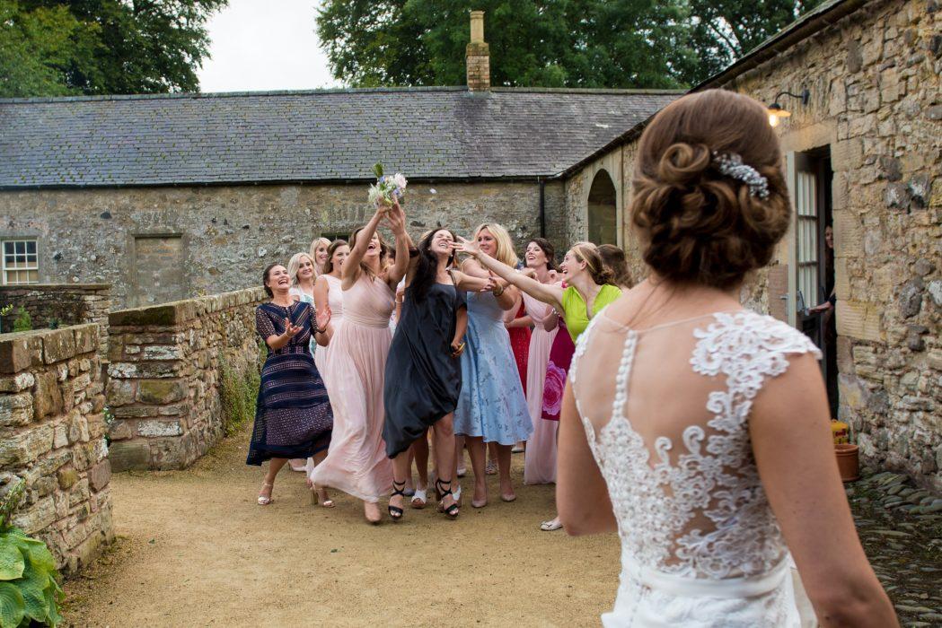 Wedderburn Barns wedding