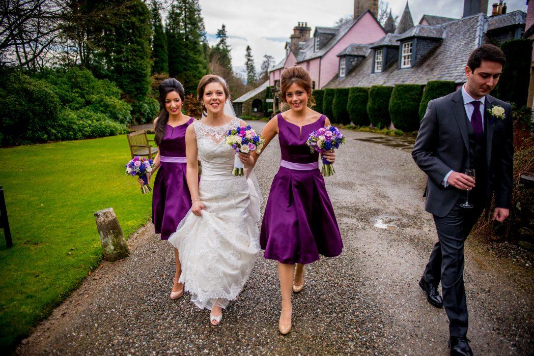 Roman Camp Hotel wedding photography