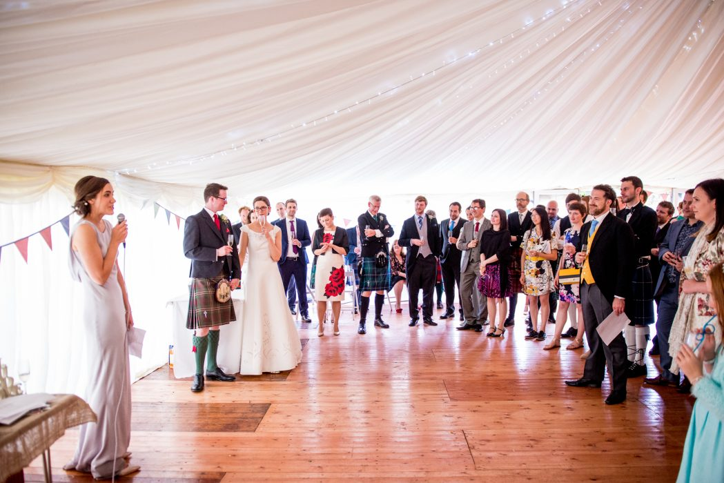 Quirky scottish wedding photography