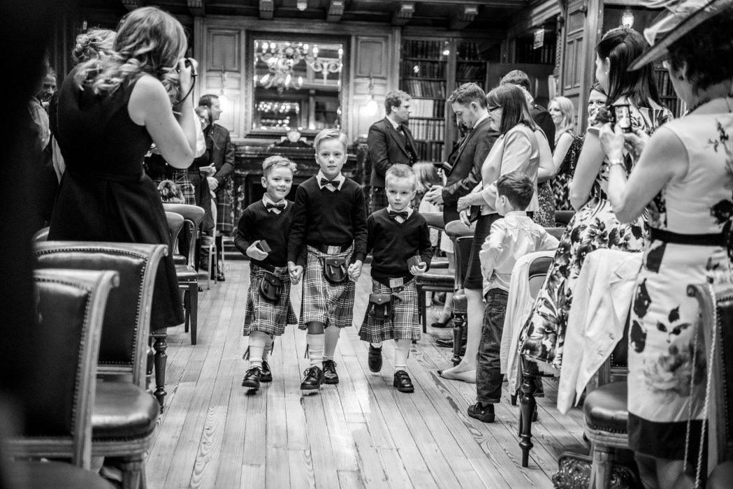 RCPE Edinburgh wedding