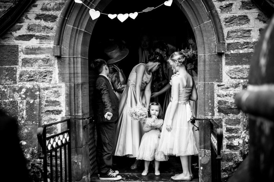 Stunning B&W Wedding photography.