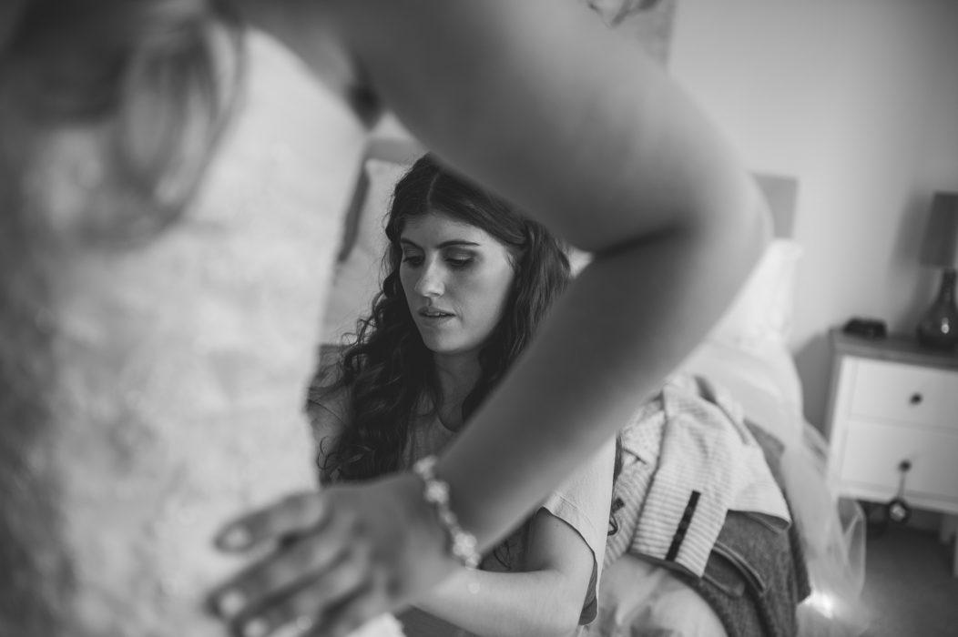 Helping Bridesmaid