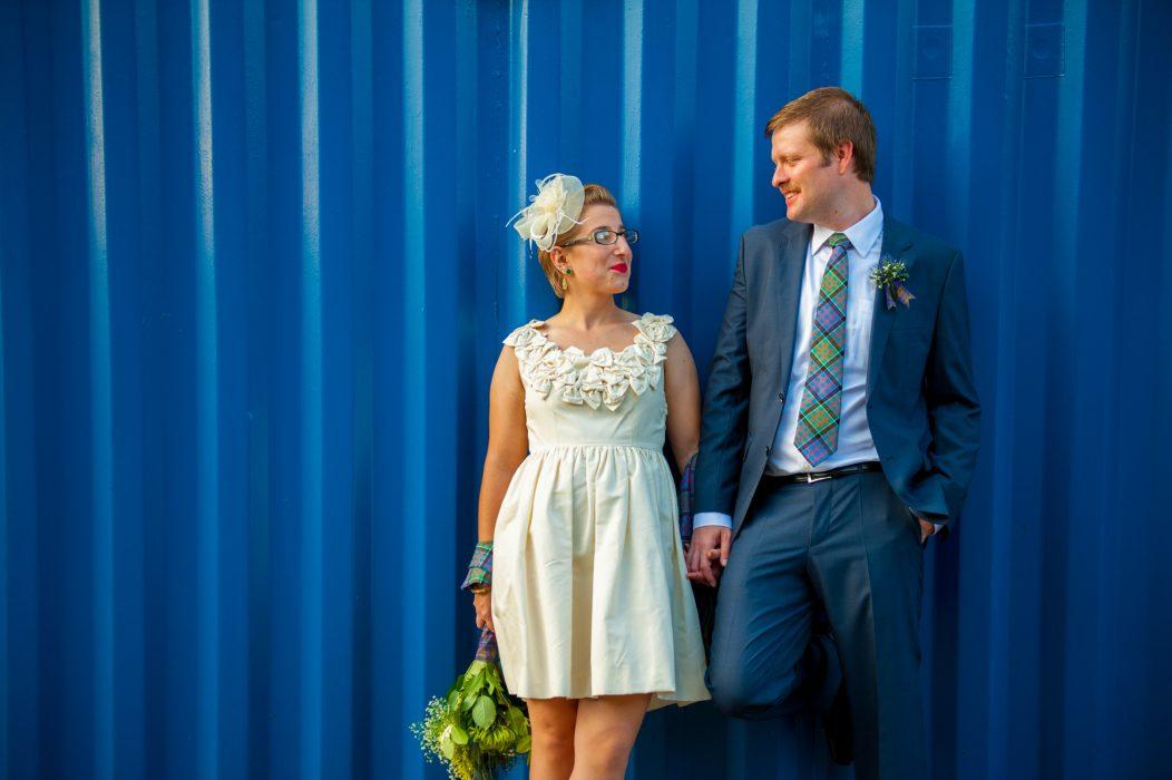 Modern Edinburgh Wedding Photography