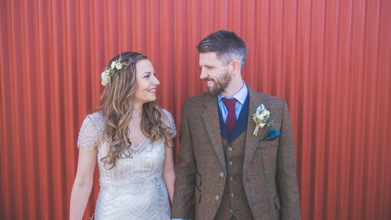 Dalduff Barn wedding