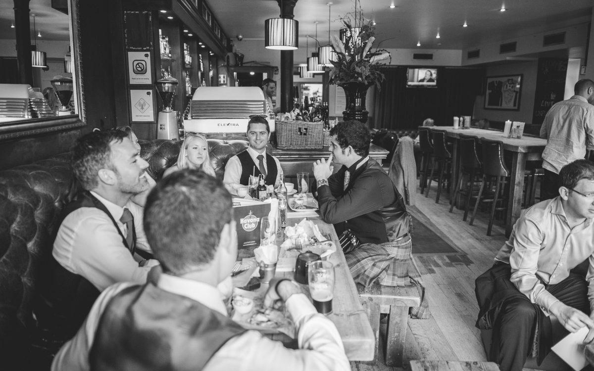 Edinburgh Botanis wedding