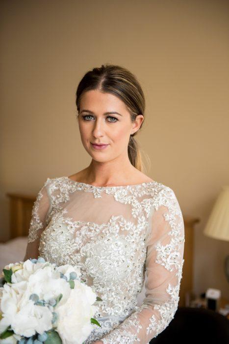 Beautiful bride at Ardgye