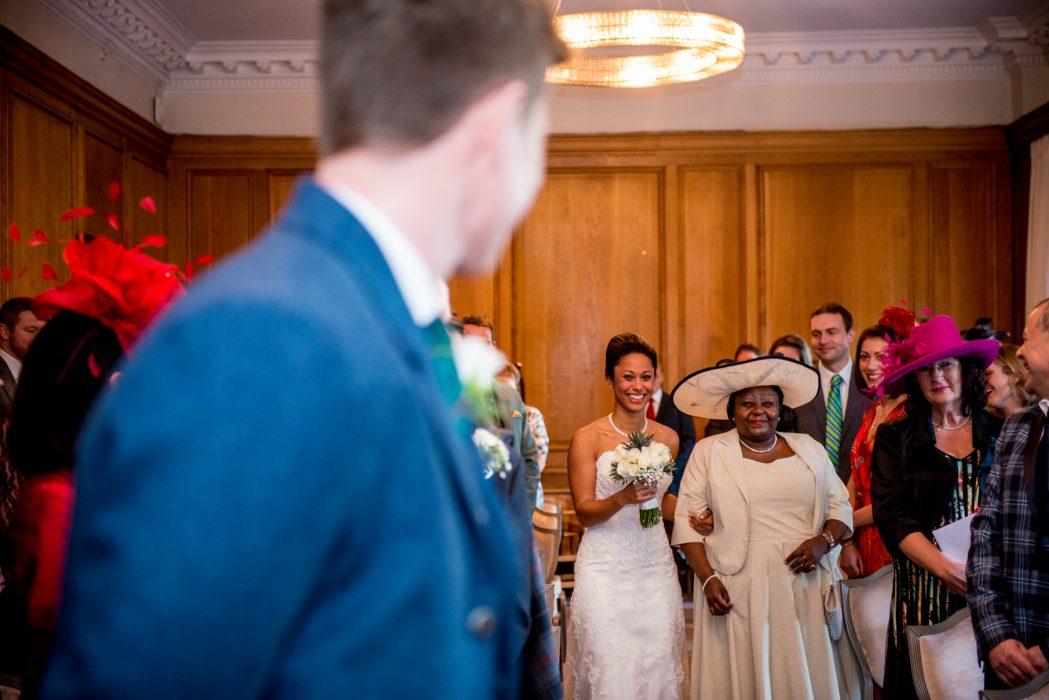 Caledonian Hotel Edinburgh wedding photography