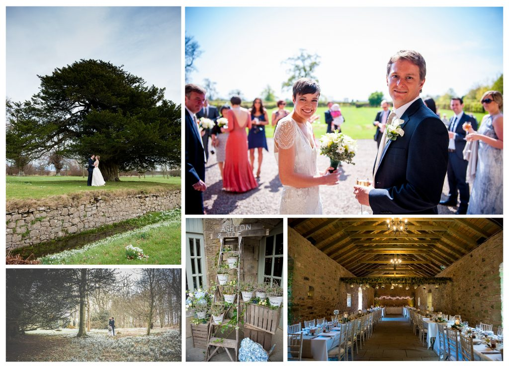 Wedderburn Castle wedding.