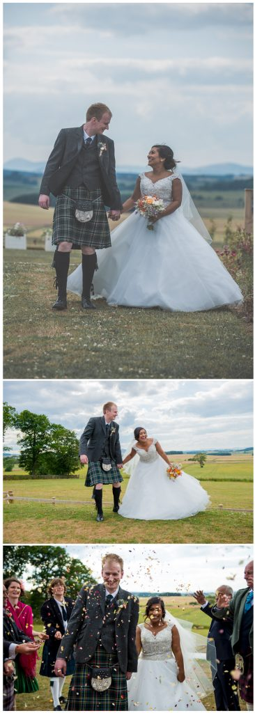Stunning wedding at Barra Castle.
